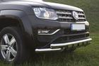 Toyota Hilux orurowanie przednie przód chrom Tiger (1)