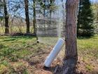 Siatka leśna do ochrony zabezpieczania przed zwierzyną zwierzętami (2)