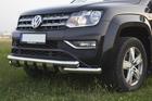 Toyota Hilux orurowanie przednie przód chrom Tiger (2)